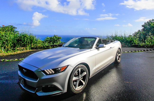 Mustang Convertible in Maui County